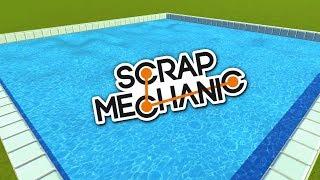 РЕАЛЬНАЯ ВОДА С АНИМАЦИЕЙ В Scrap Mechanic \ GAME FREE DOWNLOAD \ СКАЧАТЬ СКРАП МЕХАНИК !!!