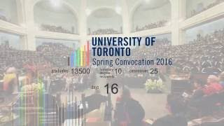 U of T Celebrates Convocation 2016