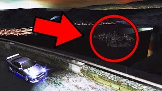 A CIDADE SECRETA DO NEED FOR SPEED UNDERGROUND 2 (CIDADE FANTASMA)