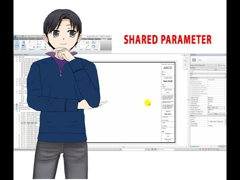 Revit KT Family SHEET - Phần 2 - Shared Parameter