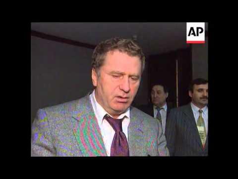 Russia - Zhirinovsky's Opinion On Clinton's Future
