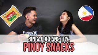 Singaporeans Try: Filipino Snacks | EP 54