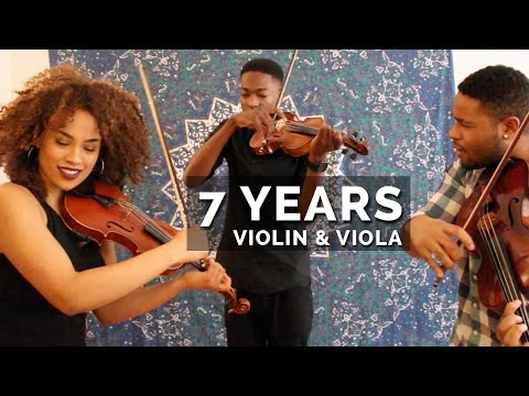 Lukas Graham - 7 Years  / Lean On (Violin & Viola Mashup)