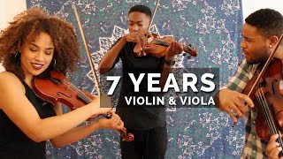 Download Lukas Graham - 7 Years  / Lean On (Violin & Viola Mashup) MP3 song and Music Video