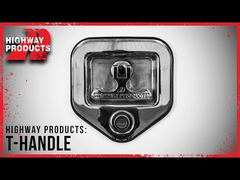 Highway Products | T-Handle Latch for Truck Tool Boxes