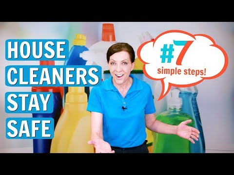 How to Stay Safe When Cleaning Solo (House Cleaners and Maids)