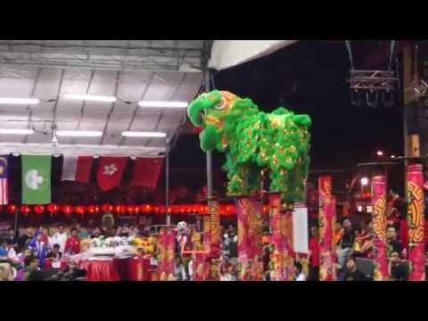 LION DANCE//Malaysia world Lion Dance Competition 2015 Full HD