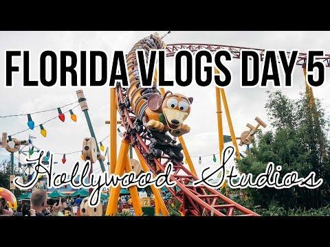 Orlando Florida Vlog Day 5: Disney World Hollywood Studios, Toy Story Land & Fantasmic