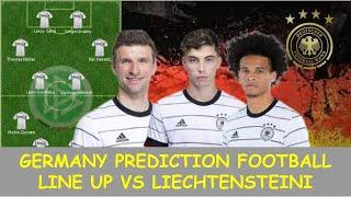 Germany Prediction Line Up Today Liechtenstein vs Germany World Cup Qatar 2022 Europe Qualifier