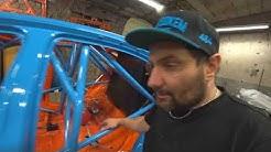 Sanka drift - BMW E90 drift build part20 - Začínáme kompletovat kastli #484 | Vlog 102