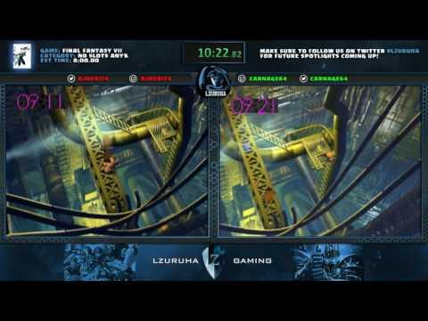 Final Fantasy VII No Slots% Race -- Ajneb174 vs CarNage64