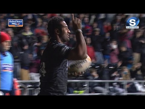 Ospreys v Scarlets First Half Highlights 3rd January 2014