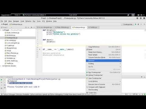 Python Programlama Dilinde Fonksiyonlar