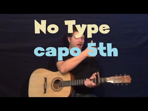 No Type (Rae Sremmurd) Easy Guitar Lesson How to Play Tutorial