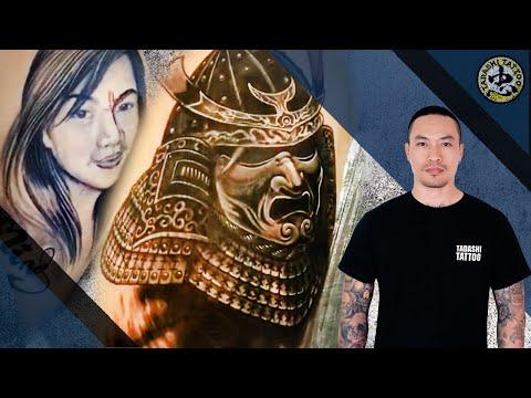 When his ex-girlfriend turns into a Samurai Tattoo