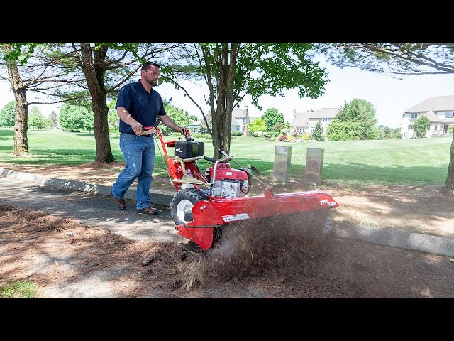 TURF TEQ Power Broom - Professional Grounds Care Equipment