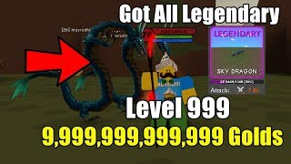 I Reached Level 78! Earned 5 Billion Gold & Got All Legendary In Wizard Simulator