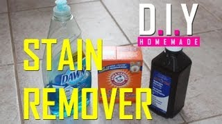 BEST Homemade Stain Remover EVER! DIY, Cheap and EASY!(This is the BEST Homemade Stain Remover EVER! It's easy, thrifty and inexpensive! It contains everyday household items, and is SUPER EFFECTIVE! Get the ..., 2013-04-26T18:30:13.000Z)