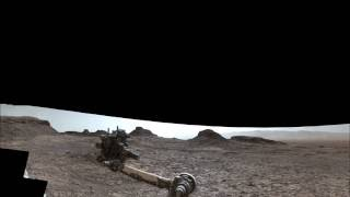 NASA's Curiosity Mars Rover at Murray Buttes  (360 View)
