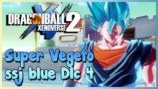 Découverte DLC 4 Super Vegeto Blue - Dragon Ball Xenoverse 2 thumbnail