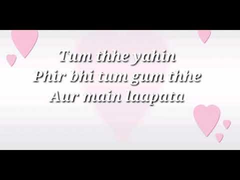 Aa jao na lyrical video|Arijit Singh|Shashwat Sachdev|Raj Shekhar|
