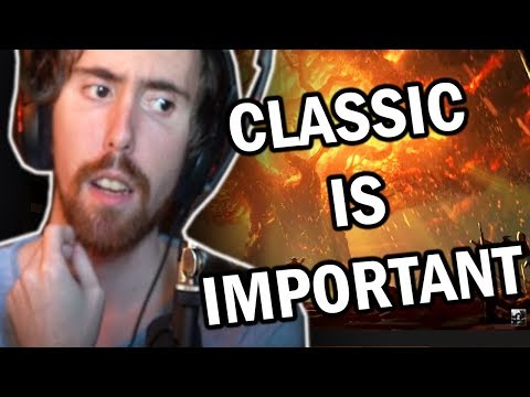 "Asmongold Reactions ""Why World of Warcraft Classic Is VERY Important For Gaming"" by Downward Thrust"