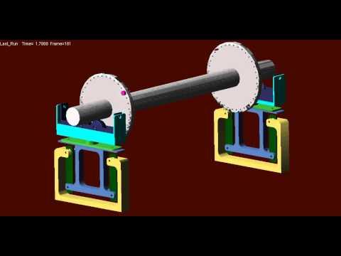 crankshaft balance machine