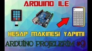 Arduino İle Hesap Makinesi Yapımı-arduino Projelerim #9
