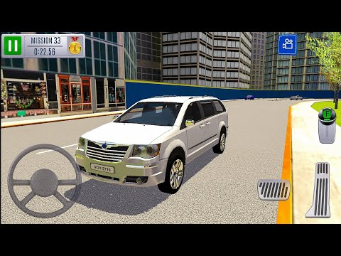 Multi Level 7 Car Parking Simulator New Car Unlocked (MPV) - Android Gameplay FHD