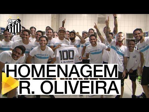 Surpresa no vestiário para Ricardo Oliveira
