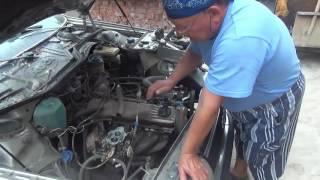 AUDI 100 ,  Объем    2л  Карбюратор    21073 .Ремонт  после  ремонта(, 2016-07-26T00:57:46.000Z)