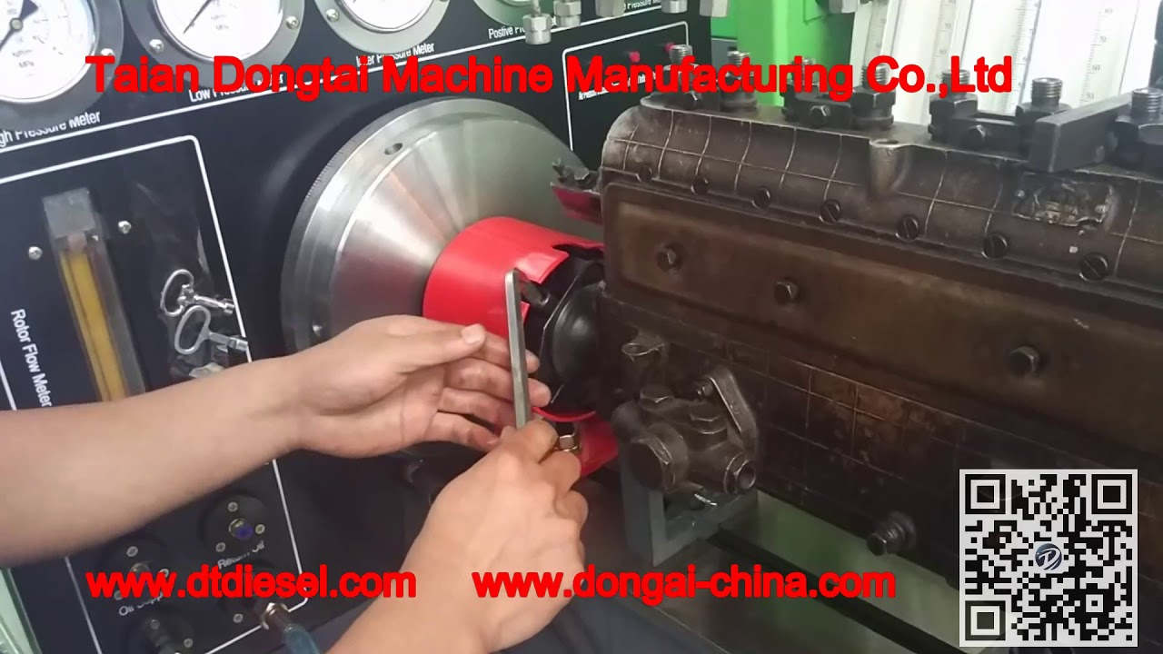 DTS619 Diesel Injection Pump Test Bench