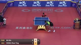 2016 china open ms qf xu xin chn wong chun ting hkg 许昕vs黄镇廷