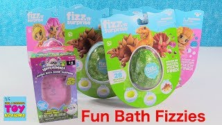 Color Change Bath Bombs Fizzies Hatchimals Mermaid Dino Fun Toys | PSToyReviews