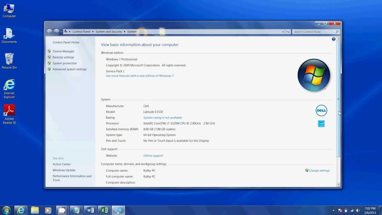 Fast Computer Intel Core I7 With 8gb Ram Amp 128gb Ssd