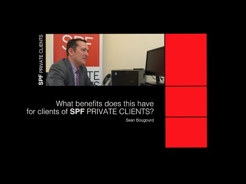 What benefits will this provide to clients of SPF Private Clients