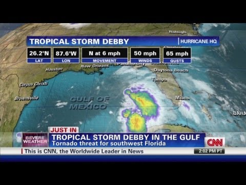 Tropical Storm Debby forms over Gulf of Mexico - CNN Weekend Shows