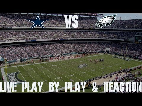 Cowboys Vs Eagles Live Play By Play & Reaction