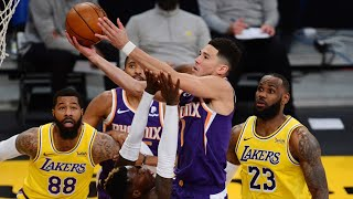 LeBron 38 Pts! Booker Ejected Suns Still Beat Lakers! 2020-21 NBA Season
