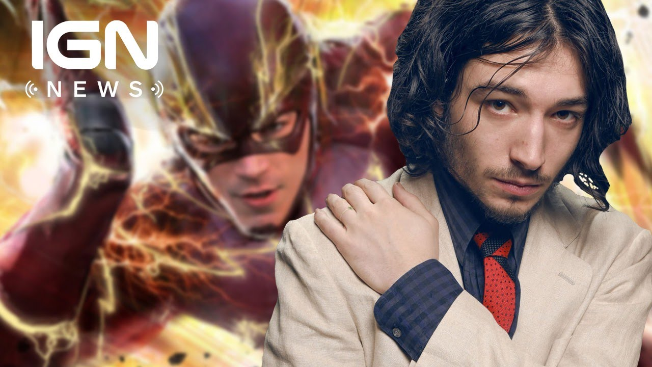 The flashs ezra miller on sharing the role with grant gustin ign the flashs ezra miller on sharing the role with grant gustin ign news youtube m4hsunfo