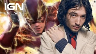 the flash s ezra miller on sharing the role with grant gustin ign news