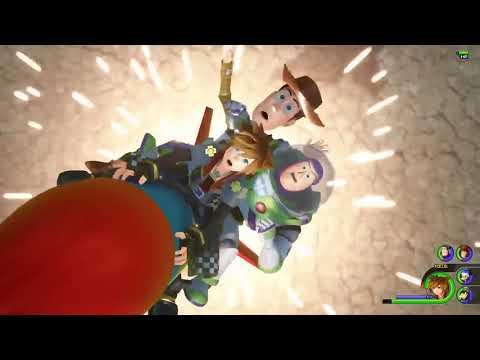 KINGDOM HEARTS 3 (KH3) I Titan Gameplay I Action RPG I PS4, XBone