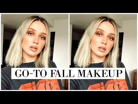 🍂Full Face Using FALL INSPIRED Makeup 🍂