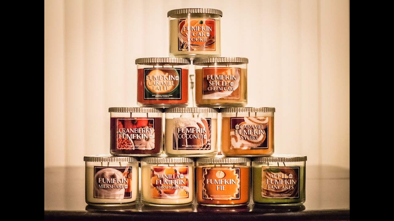 Image result for autumn candles bath and body works
