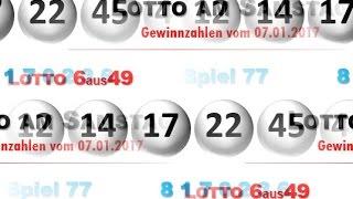 Lotto Samstag: Lottozahlen Ziehung heute 07.01.2017