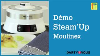 Démo express : Steam-up de Moulinex