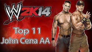 WWE 2K14 - Top 11 John Cena
