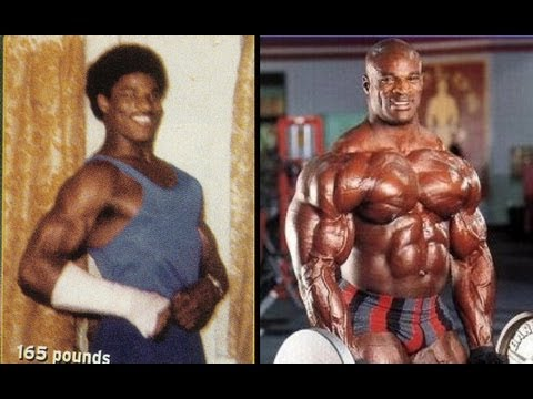 Pro bodybuilders before and after (Ronnie Coleman, Arnold, Phil Heath, Kai Greene, Jay Cutler, etc)