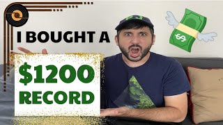 I Bought A $1200 Vinyl Record... | RAREST FIND EVER - STORYTIME