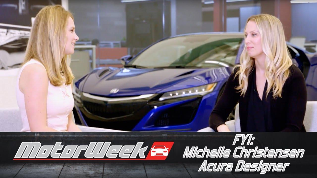 FYI Michelle Christensen Acura Designer YouTube
